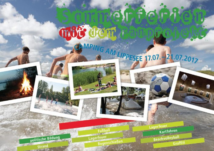 Plakat NRW Sommercamp 2017