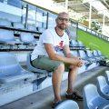 Thomas im Stadion